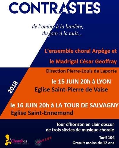 Affiche Concert du 16 juin 218